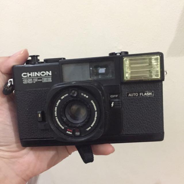 Kamera Jadul CHINON 35F-EE