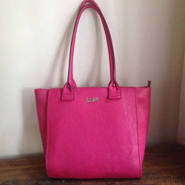 Kate Hill Handbag Fuchsia