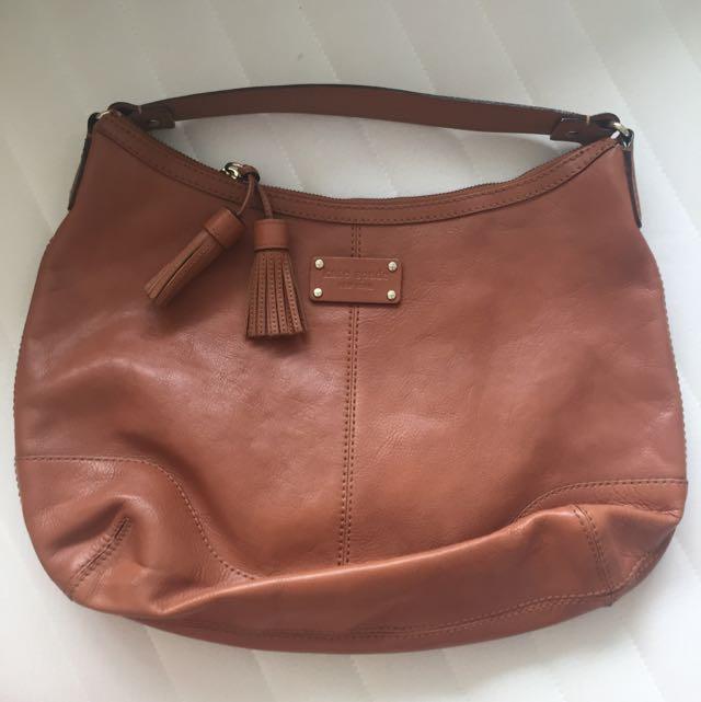 Kate Spade Leather Hobo Bag