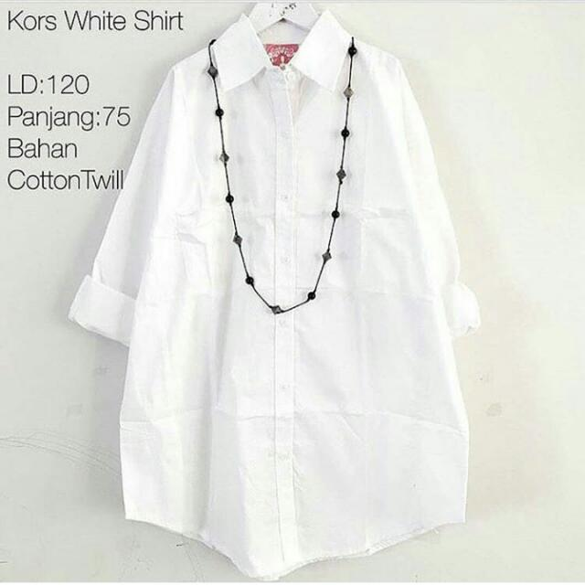 Kors White Shirt