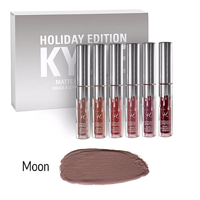 Kylie Holiday Mini Matte in MOON