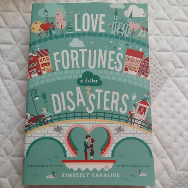 Love, Fortune And Other Disasters By Kimberly Karalius (paperback)