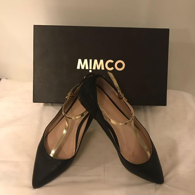 Mimco Edie Mary Jane Size 38