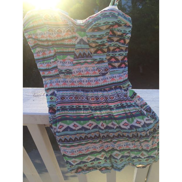 Moroccan Patterned Playsuit