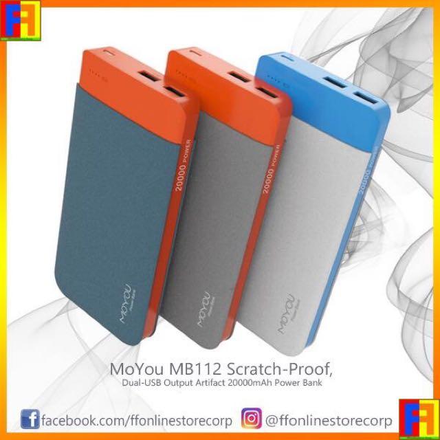 MoYou MB112 Scratch-Proof(20000mAh) Power Bank