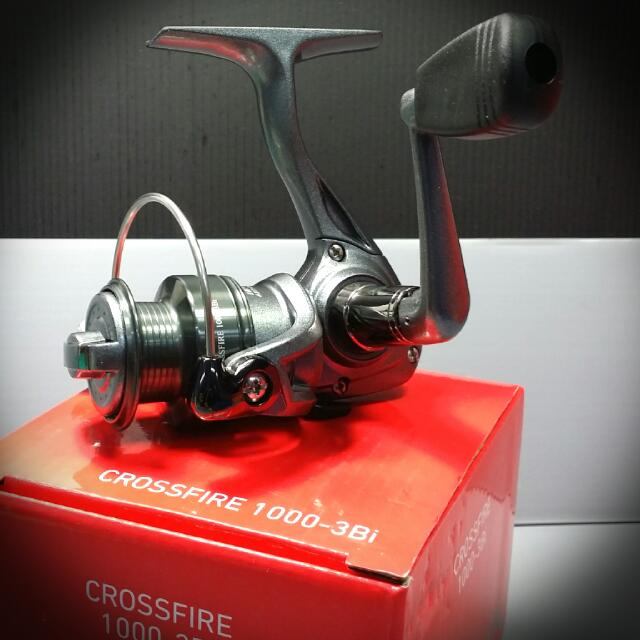 1deba408d19 New!!! Just In!!! Daiwa Fishing Reel Crossfire 1000-3Bi (AD), Sports ...