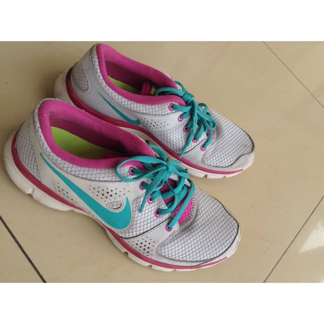 Nike Flex Experience Run Pink Turquoise
