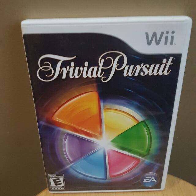 Nintendo Wii Trivial Pursuit Game