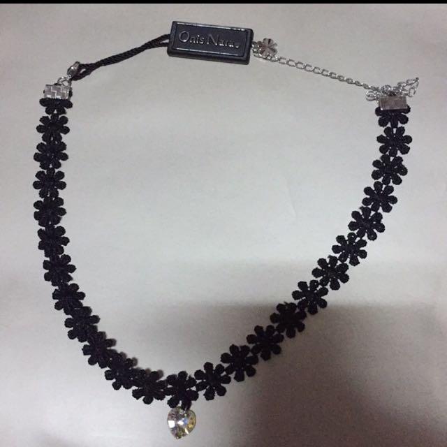 Onis Nara 鑽石拼花項鍊