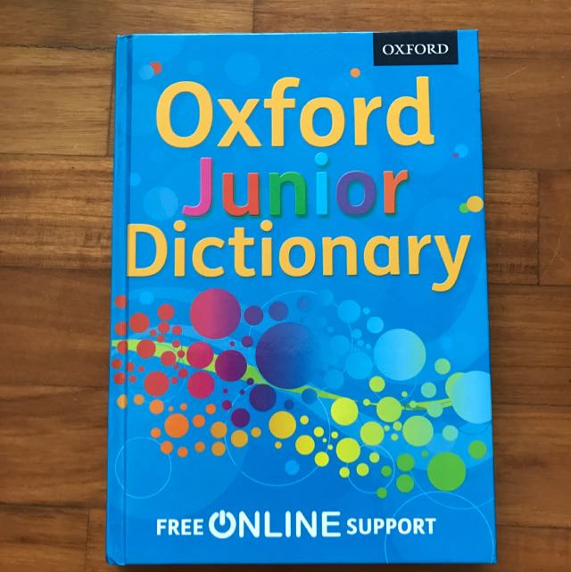 Oxford Junior Dictionary (English), Books & Stationery ...