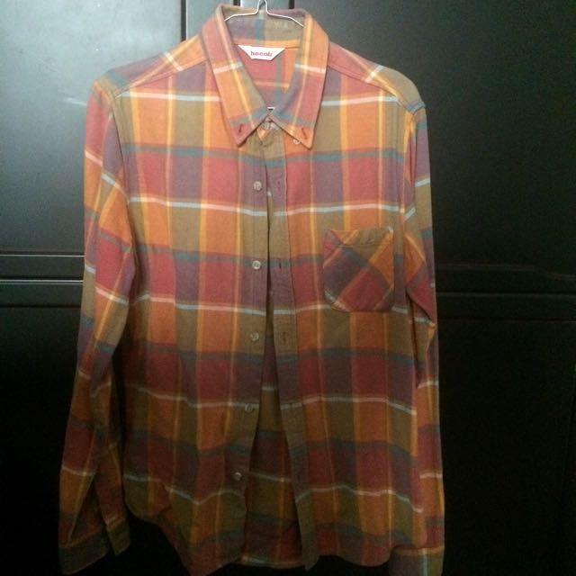 [REPRICE] Pastel Plaid Flannel