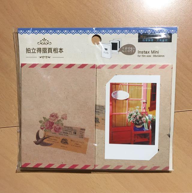 Polaroid film holder