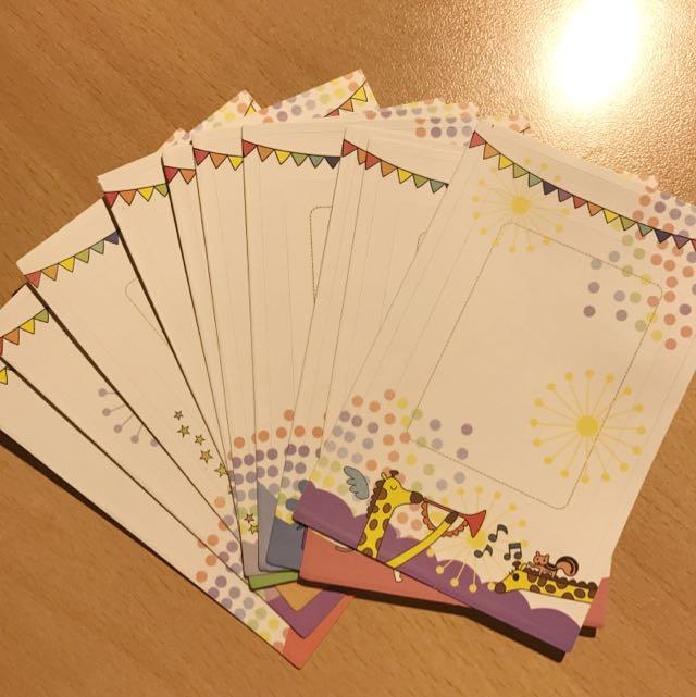 Polaroid film sticker sheets