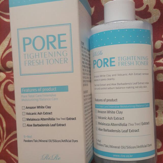 Rire Pore Tightening Fresh Toner( Made in Korea)