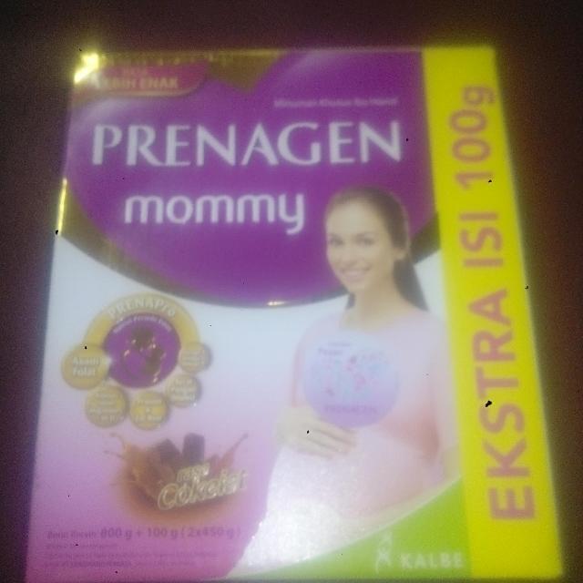 Prenagen mommy rasa coklat 2 x 450 gram, expired 23 Maret 2018.