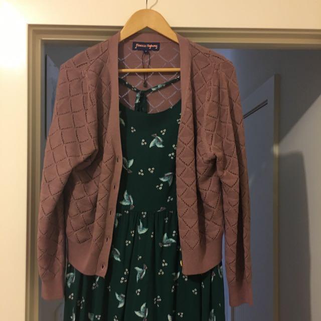 PRINCESS HIGHWAY - Dress & cardi