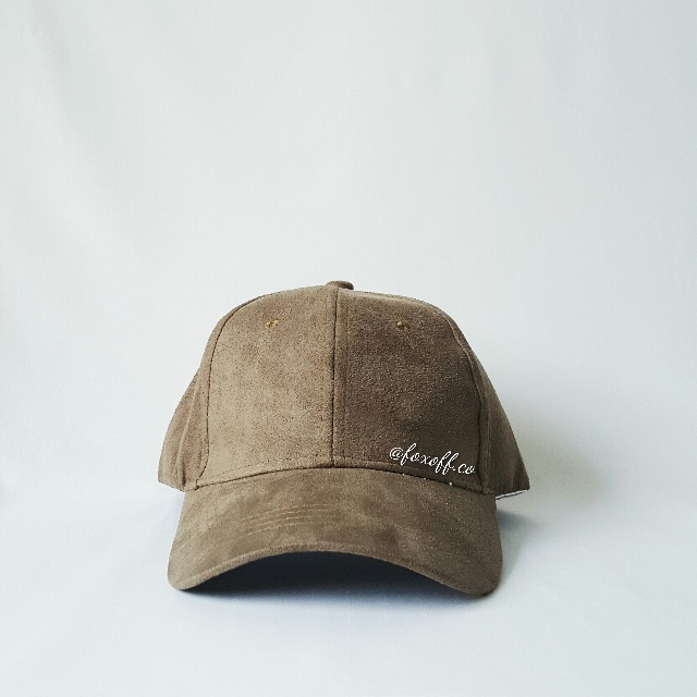 [Ready Stock] Suede Cap