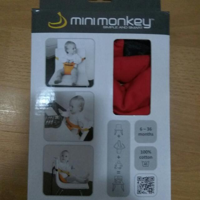 Red Mini Monkey Mini Chair
