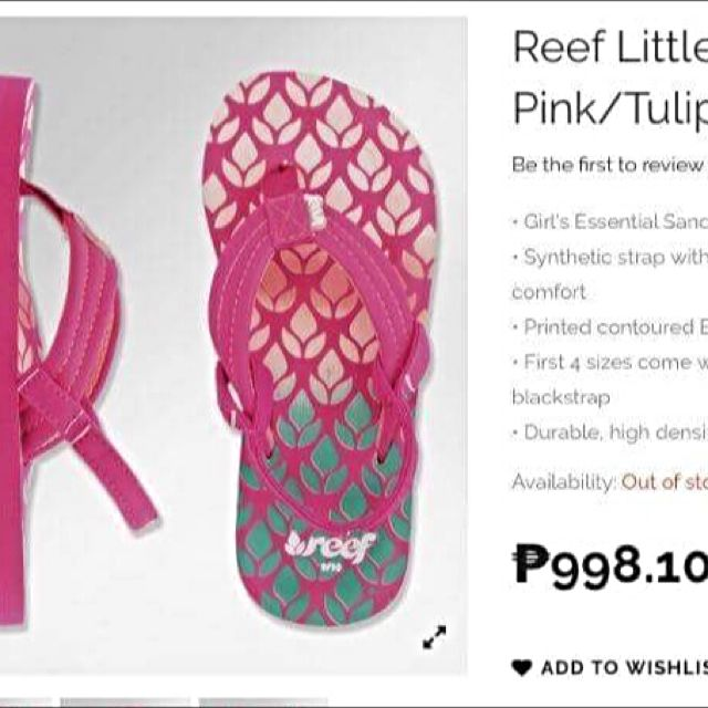 Reef Sandals For Babies