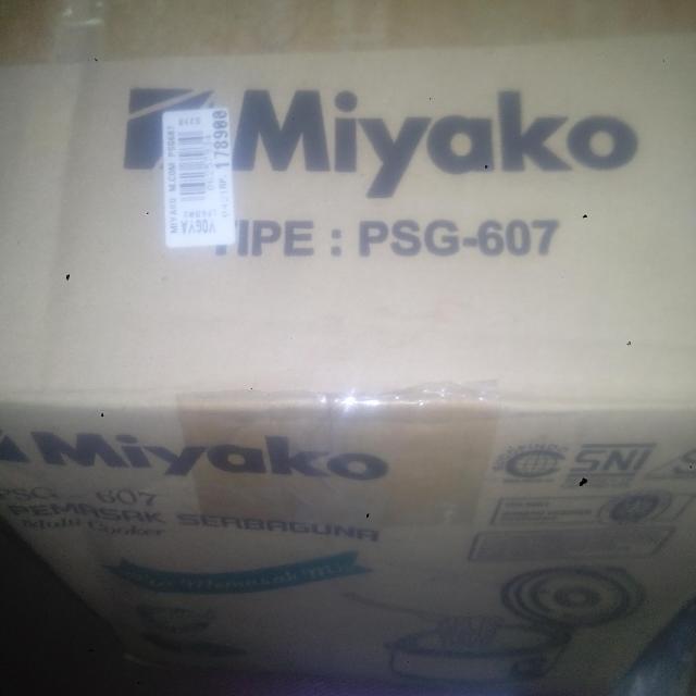 rice cooker Miyako 0,6 liter