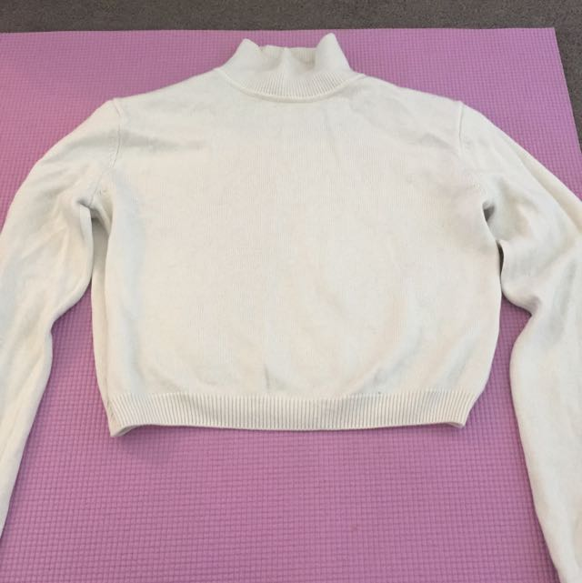 Rodeo Show Cream Crop Sweater - Worn Once