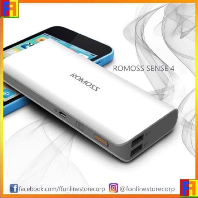 ROMOSS Sense 4 (10400 mAh) Power Bank