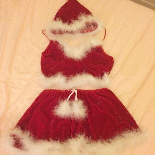 Santa Costume 3 Piece Set