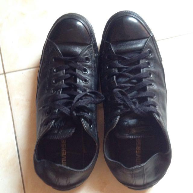 Sepatu Converse Kulit Ori c35f9bbeda