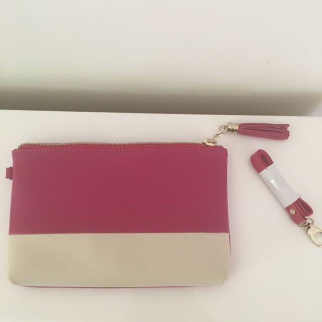 Small Pink Clutch