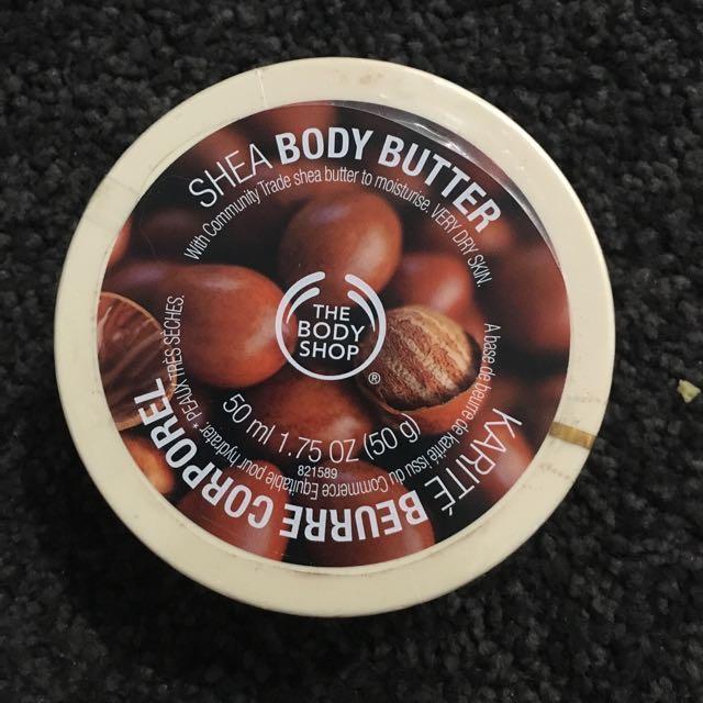 The Body Shop Shea Butter Body Butter