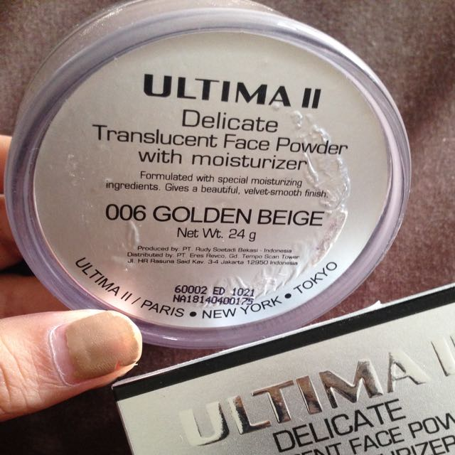 Ultima II Delicate Translucent Face Powder With Moisturizer