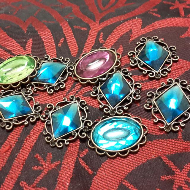 Vintage Pendant Findings Approx 1ins