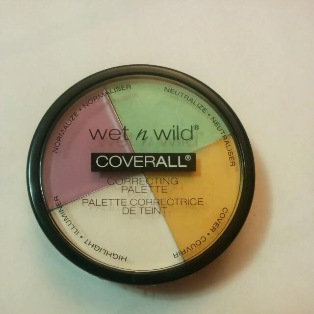 Wet & Wild Correcting Palette