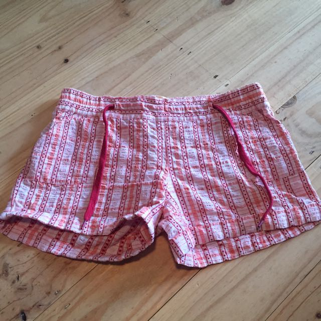 Women's French Kitty Love Heart Shorts Size S