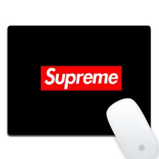 Supreme Mouse Pad Black Color 4pcs Left
