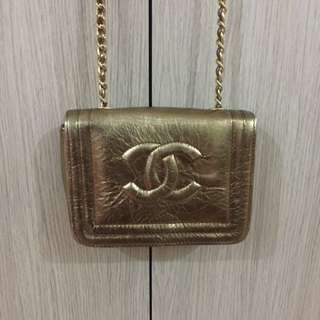 Chanel Bag In Gold (from Europe)