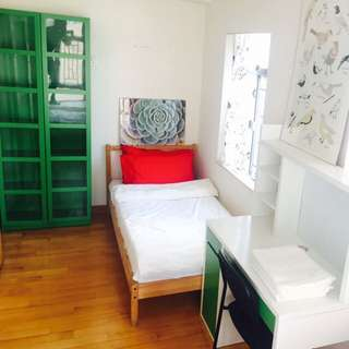 Single Bed With Ikea Mattress + Drawer