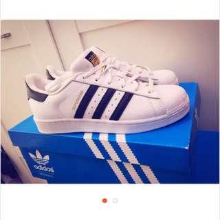 全新正品Adidas 金標Superstar