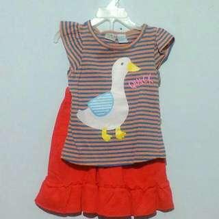 Setelan Baju Anak Perempuan Merk Smara