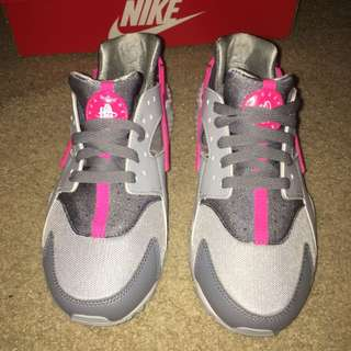 Huraches (Pink and Grey)