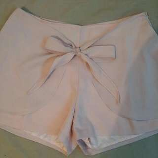 REDUCED Tailored Tie Waist Shorts