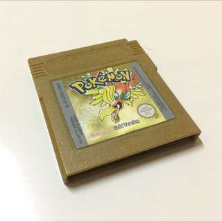 Pokemon Gold Version For Gameboy/Colour/Advanced/Sp