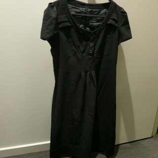 Cue Black Dress 8