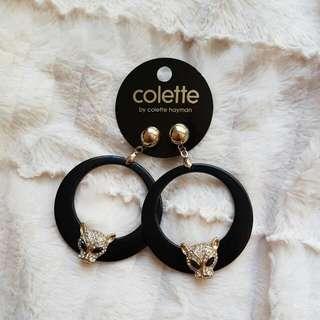 Colette Puma Hoop Earrings