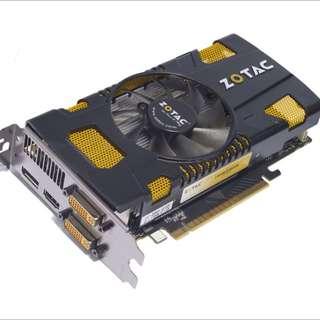WTS Nvidia GeForce GTX 550 Ti 1GB