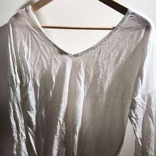 Long Sleeve White Shirt From garage