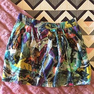 Size 12 Cooper St Skirt Colourful Pattern