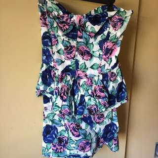 Strapless Dress. Pick Up Only