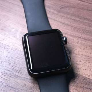 Apple watch (black gray matte)