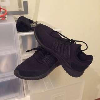Adidas Triple Black Tubular Radials